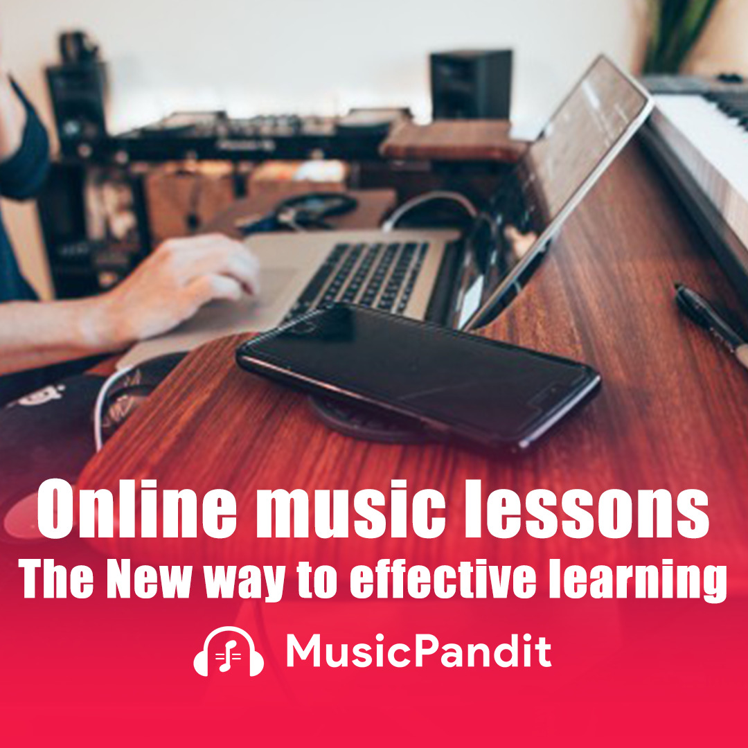 Online music lessons The New way to effective learning