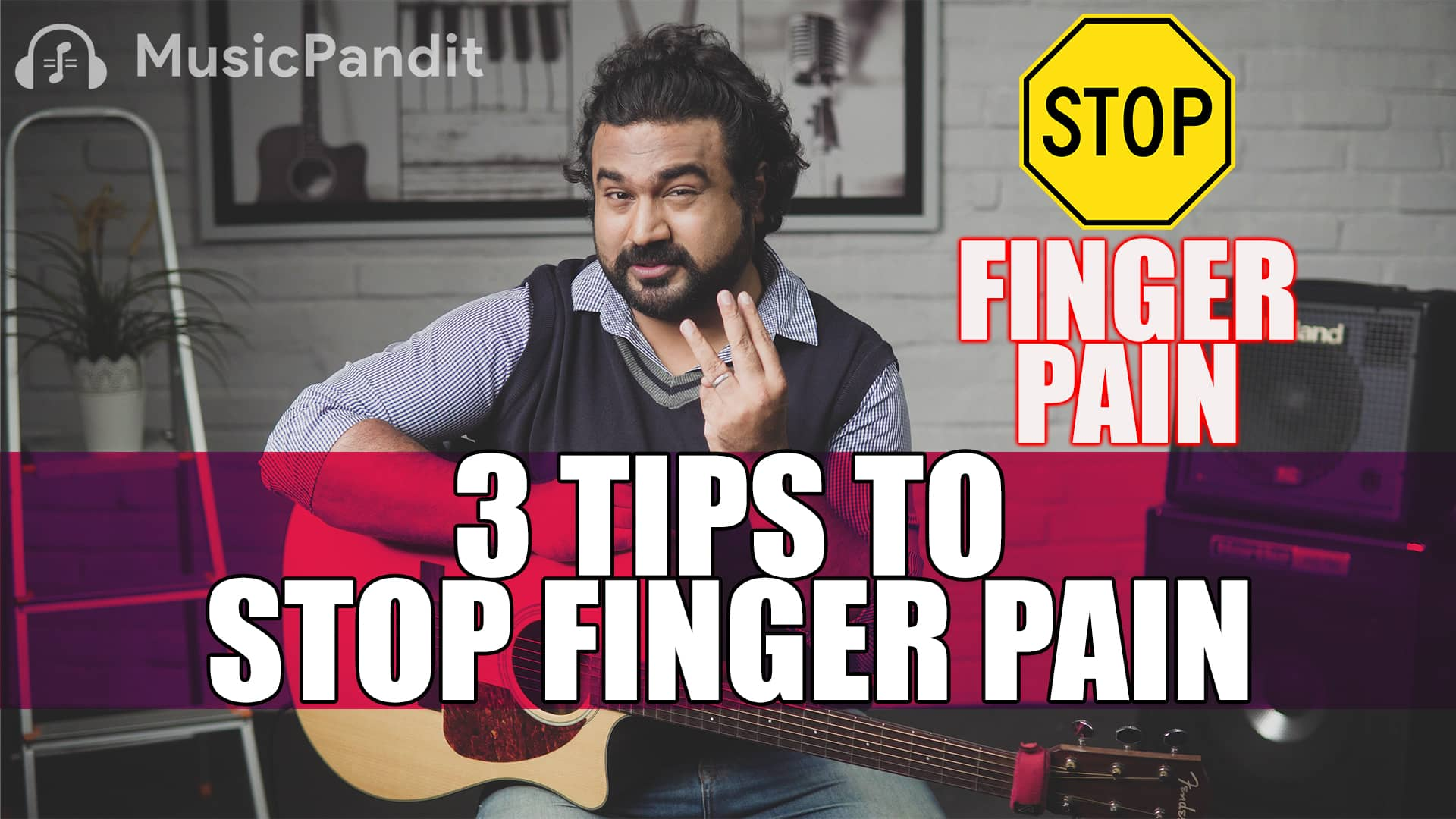 How to Avoid Finger Pain when Playing Guitar